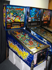 OH Berea - Earthshaker (scottamus) Tags: pinball machine game table arcade cabinet berea ohio kidforcecollectibles earthshaker williams 1989
