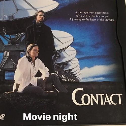 #contact #movienight