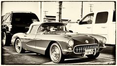 1957 Chevrolet Corvette (Pat Durkin OC) Tags: 1957chevrolet corvette red softtop