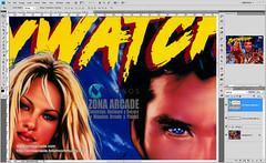 Baywatch Translite. Restored Mikonos2 (Mikonos - Zona Arcade) Tags: baywatch pinball vigilantes de la playa translite sega zona arcade mikonos artwork restored scan