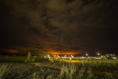 Cobram Sunset (Rene52) Tags: sunset glow burnoff night nighttime nightphotography cobram racv clouds sky