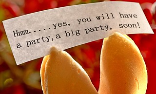Fortune cookie was right! HMM