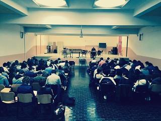 In diretta dal Liceo Galilei di Selvazzano (Pd) a presentare il nostro spettacolo Arbeit. Ospite speciale un esponente dell'ANMIL #teatrobresci #attivamente #fondcariparo #theaterlife #theatrelife