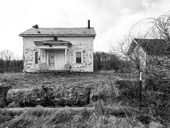 Another house.... (tbower) Tags: house derelict bw blackandwhite nikonp330 raw nrw cs7 ohio niksep abandoned