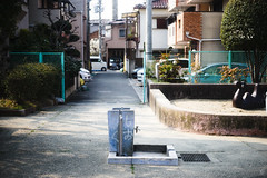 Drinking fountains (yasu19_67) Tags: sonyα7ilce7 yashicalensmlmacro55mmf28 55mm filmlook filmlike digitaleffects park atmosphere photooftheday alley osaka japan xequals xequalscolornegativefilms
