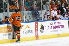 "Missouri Mavericks vs. Allen American, March 22, 2017, Silverstein Eye Centers Arena, Independence, Missouri.  Photo: © John Howe / Howe Creative Photography, all rights reserved 2017 • <a style=""font-size:0.8em;"" href=""http://www.flickr.com/photos/134016632@N02/33606010295/"" target=""_blank"">View on Flickr</a>"