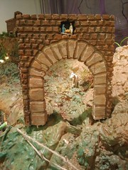 door at the mountain, with a super tiny betlehem (Dams Dolls) Tags: pesebre pessebre belén belenismo betlehem christmas navidad