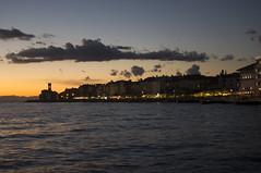 🇭🇷 Sunset over the Adriatic Sea (matfarina) Tags: sunset slovenia sea seaside beach sun city view skyline igerseu igerslovenia visitpiran