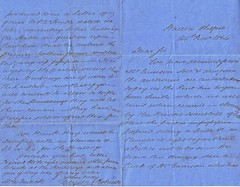 1. Letter from Richard Robinson, Solicitor, Thetford, Norfolk to William Frederick, Pimlico, Westminster (Middlesex) 1864. (North West Kent Family History Society) Tags: letter dated 14thnovember1864 richardrobinson solicitor watton thetford norfolk williamfrederick pimlico westminster middlesex farm rent tennent's built sell notice ecbdcollection documents bankersdraft grigsonandrobinson clerk cambridgestreet