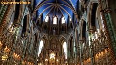 Interior of The Notre Dame Cathedral, Ottawa, Canada (ssspnnn) Tags: notredamecathedralottawa church cathedral iglesia igreja catedral arquitetura architecture interiordesign snunes spnunes spereiranunes nunes samsung galaxy edge canada ottawa