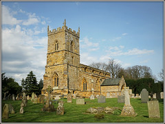 St.Botolphs (Jason 87030) Tags: church view churchyard graves stones holy magnificent northants northamptonshire village scene nice weather clouds building architecture stbotolph religion uk england unitedkingdom greatbritain