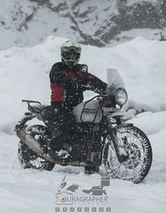 One for the Pose (touragrapher) Tags: 70200 canon70200 canon70d dharali harshil himalayas himalyan offroader royalenfield sigma30mm snow snowstorm2017 snowstorm uttarkhashi uttrakhand uttrakhandtourism whereeaglesdare remotestcorners tourer