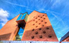 Asymmetry (creati.vince) Tags: architecture cityscape creativince frankfurt germany mainhattan skyscraper asymmetry