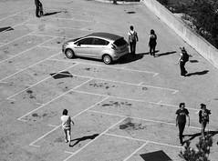 Des pions (Flakadiablo) Tags: bw noiretblanc blackandwhite marseille parking park street streets rue