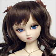 leeke_LR-028 (uk.neko) Tags: bjd ball jointed doll dollga leeke leekeworld wigs 67 78 89 black brown blonde white silver grey gray red blue pink pastel orange for sale fs