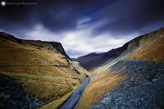 Honister Pass, Keswick (Silent Eagle  Photography) Tags: sep silent eagle photography silenteaglephotography landscape canon canoneos5dmarkiii lee leefilters longexposure bigstopper rocks northwest sky clouds road plants outdoor silenteagle09 iso50 honisterpass keswick 40secs