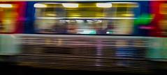 2017-04-10 – True Colors (Cyndi Lauper) (Robert - Photo du jour) Tags: avril 2017 regarddunjour truecolors cyndilauper couleur color train rer regard banlieue fenêtre vitesse