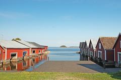 Trollharen (Lnsmuseet Gvleborg) Tags: sweden quay wharf boathouse falun kaj fishingvillage boatshed brygga falurd hlsingland bthus sjbod fiskelge trollharen jungfrukusten maidencoast