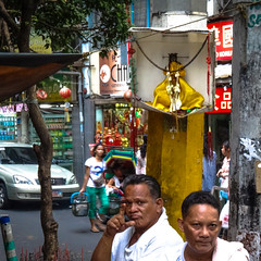 A small shrine (MastaBaba) Tags: street men shrine chinatown philippines manila 20130602 bf:blogitem=5462 bf:date=20130602