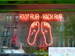 Foot Rub (Mike Licht, NotionsCapital.com) Tags: newyorkcity signs eastvillage feet neon manhattan massage storefronts backrub footrub