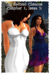 Untitled-1 (Second Life Stories) Tags: woman white girl hair long dress curly secondlife tiffany cuffs handcuffs handcuffed cuffed