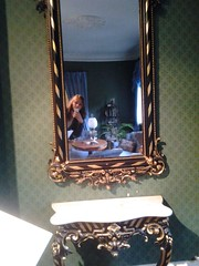 museum time :) (VAIVAPAMAIVA) Tags: old brown house beach museum hair table mirror sweden curly