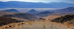 Death Valley on a hot and hazey day. (PIX SW) Tags: california usa desert deathvalley hottestplaceonearth roadindesert