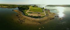 KAP 2013-07-05 Pemaquid Historic Site ME (N-Blueion) Tags: panorama maine kap pemaquid kiteaerialphotography