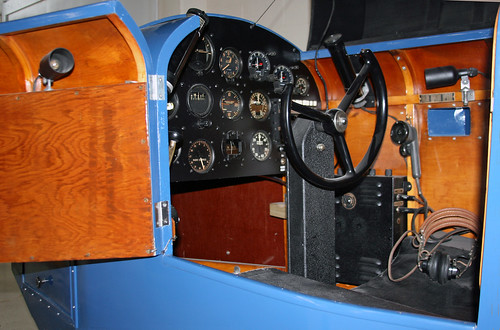Link Trainer Piper Museum - Cockpit