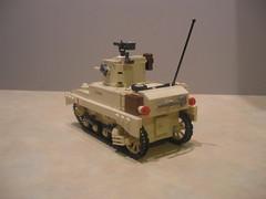 Lego British Stuart III (Shockblast1) Tags: tank lego wwii stuart m3a1 brickarms legotank brickmania stuartiii