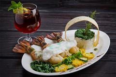 (Beyond Elements) Tags: food dinner cuisine continental kolkata prawn