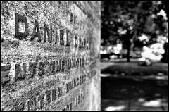 london-4-010813 (Snowpetrel Photography) Tags: blackandwhite cemeteries london monochrome stone graveyards stonework streetphotography graves bunhillfields gravestones tombs memorials smcpda21mmf32al pentaxk01