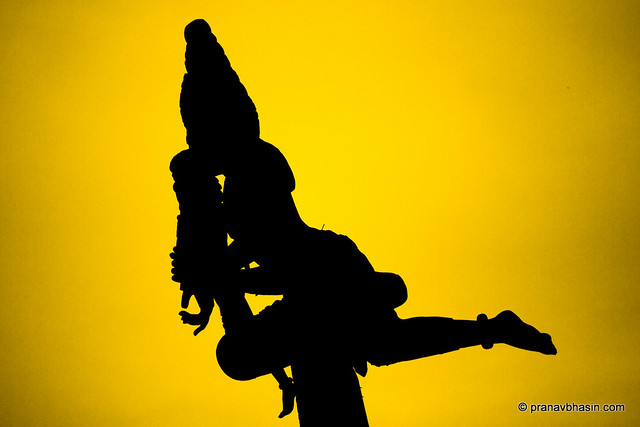 Lord Of The Wind Silhouette, At The Sanctuary Of Truth, Pattaya