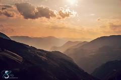 Passo Costalunga (Chiara Salvadori) Tags: travel sunset italy mountains alps nature forest trekking landscape photography nikon unesco trail valley hdr trentino dolom