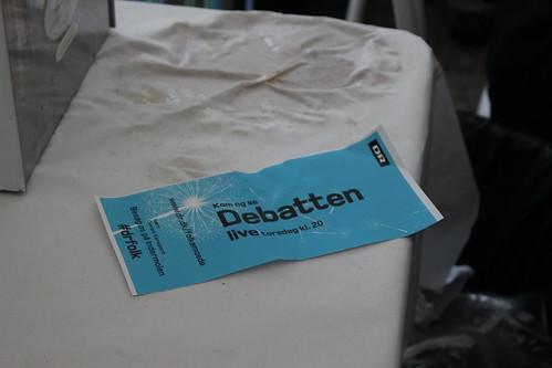 Flyer, DR-teltet