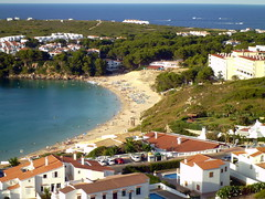 sandy Bay (swiftymags) Tags: menorca arenaldcastel