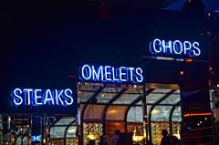 Metro Diner (Greg Foster Photography) Tags: atlanta food sign ga georgia mirror nikon downtown neon metro atl diner chops grub steaks dragoncon omelets d7000 weloveatl