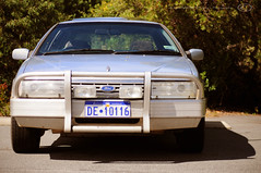 1994 Ford Fairlane Ghia 5L V8 Windsor (OffRoadFalcon's Photography) Tags: cruise blue light west ford bar sedan denmark lights nc spring driving 5 south country great australian australia bull southern lane western wa windsor 1994 aussie aus westernaustralia v8 sunroof fairlane ghia litre spotlights biscayne walpole nc2 bullbar 5l cruisey ncii