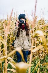Corn Maze (PhilMeintzer) Tags: autumn red art fall 120 mamiya film nature fashion 35mm canon mediumformat eos corn aperture nikon bokeh farm 14 wide sigma maze 5d medium format cornmaze mamiya645 fg fallfashion 1000s mkiii mk3 filmisnotdead m645 canon5dmk3 5dmkiii