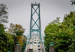 Lions Gate Bridge viewed from Prospect Point in Stanley Park Vancouver BC Canada (mbell1975) Tags: from park ca bridge canada vancouver point puente gate bc pacific northwest bur britishcolumbia columbia canadian ponte most stanley lions pont british bro brug brücke prospect brig köprü viewed bouwwerk