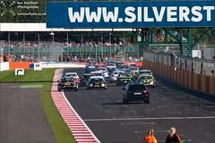 Formation lap (Ian Garfield - thanks for over 1 Million views!!!!) Tags: cars sports car sport ian photography championship racing silverstone british garfield touring motorsport btcc dunlop msa 2013