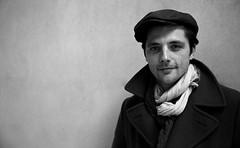 """Le comédien @PersonnazR devant mon objectif - interview @europe1 pour le dernier film de Bertrand Tavernier """"Quai d'Orsay"""" (nikosaliagas) Tags: artofvisionpeople"""