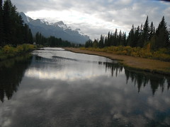 Bow River North America (Mr. Happy Face - Peace :)) Tags: quotes mrshappyface childlike reflections reflect love peace peaceful worldpeace rockymountains rockies nature naturalbeauty cloudsskywater autumn southernalberta travelalberta exploring explorenature canmore alberta canada canadalandscape villageslandscapecountryside mrhappyface jimmyb skyline sunrisesunset snowcaps naturewalk bowvalleyparkway bowriver dusk rivervalley rivers riverpathway riverwalk evening bluehour fall pristine shallowwaters autumncolors journey discover experience passion fields charm look promises mountains chill chilly snow skihills outdoors outdoorspaces flickrfriend internationaltravel naturespoetry caught placid mysterious nightshot h20wonders