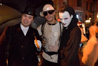 Church Street Halloween Street Party, Toronto 2013.