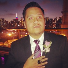Wedding Season (Instant Vantage) Tags: nyc wedding color skull one hotel flag philippines x ring empire groomsman penthouse empirestatebuilding bouffant groomsmen htc ravel prettybitch instagram flickrandroidapp:filter=none htconex
