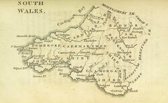 Image taken from page 437 of '[England Delineated; or, a Geographical description of every county in England and Wales; with a concise account of its most important products, natural and artificial. For the use of young persons.]' (The British Library) Tags: southwales unitedkingdom map large rotated publicdomain geo:country=unitedkingdom geo:country=uk geo:state=wales vol0 geo:continent=europe page437 bldigital mechanicalcurator pubplacelondon date1803 aikinjohnmd sysnum000033859 imagesfrombook000033859 imagesfromvolume0000338590 geo:osmscale=7 hasgeoref wp:bookspage=synopticindexukandireland georefphase1