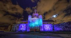 Illuminations 2013 de l'glise Notre Dame de Calais (jeje62) Tags: france illuminations notredame glise nordpasdecalais renaissance eglise calais bougie panoramique clairage