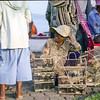 Cheerful birds seller (virtualme78) Tags: travel 6x6 film photography blackwhite cambodia kodak 55mm 400 squareformat diafine fujifilm phnompenh hp5 siemreap portra ilford 160 trix400 sekor mamiyac330f pro160ns super180mm