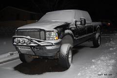Snow Covered Ford 4X4 (slash521) Tags: arizona snow cold ford nikon sunday earlymorning fabtech decembersnow coveredinsnow prescottaz yavapaicounty ford4x4 120813 localautos ashman88