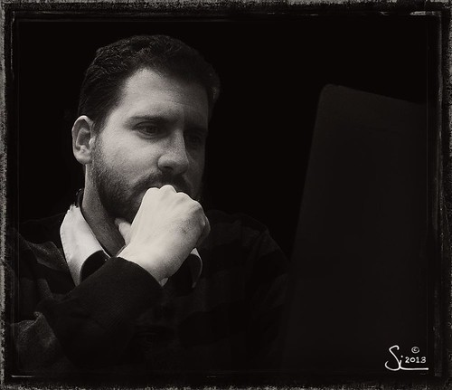 Week 50 Black & White Portrait - Stelios